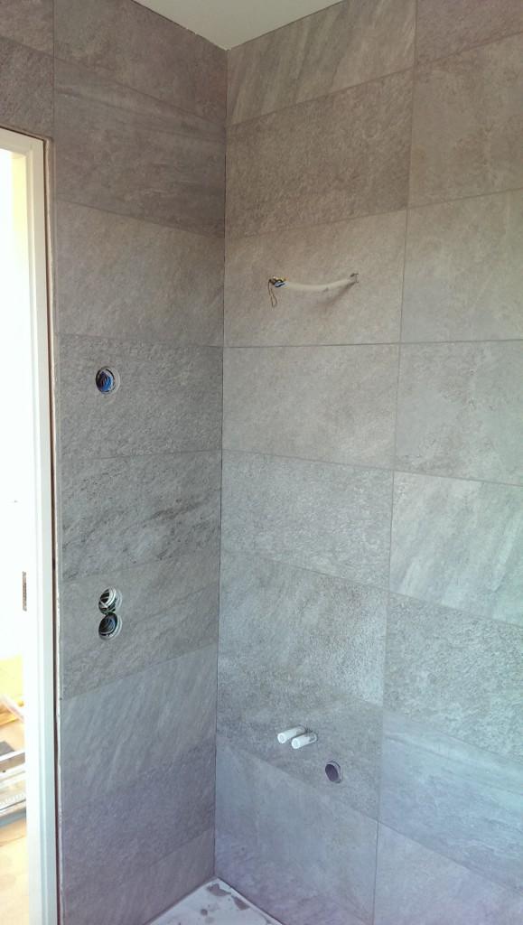 WC/D master bedroom, plats för handfat